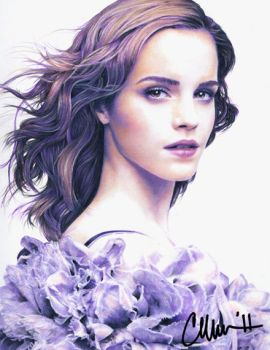 Emma Watson - Scan of Drawing by Live4ArtInLA