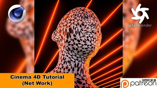 Net Work (Cinema 4D Tutorial) by NIKOMEDIA