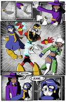 Mega Man Redux Issue 04 Page 20 Real by JusteDesserts