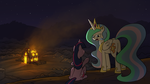 RDP: The Star in Yellow - Clestia and Twilgiht 2 by petirep