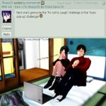 MMD Ask - Dare 2 (To JRoqqs25) by Sheila-Sama-15