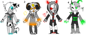 Point neon demon adopts by Pirate-Reaper