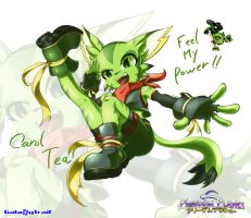 Freedom planet-Carol Tea fanart by AnRock3