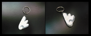 Wing Keychain by sammers94