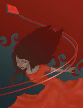 Ethereal Art Book red by IVDP