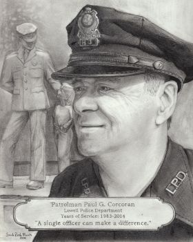 Patrolman Paul G. Corcoran by asteraascended