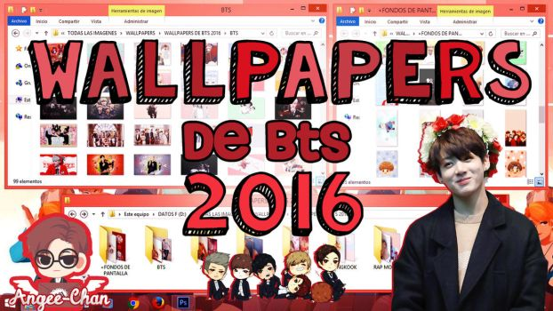 WALLPAPERS DE BTS 2016+FONDOS DE PANTALLA by ANGEE-CHANN