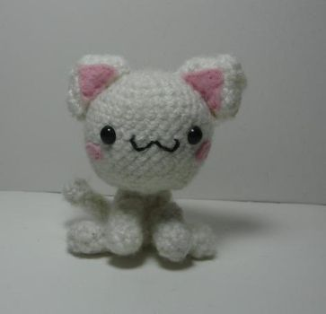 crochet kitty by melissah84