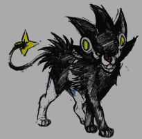 Luxray by Hraigro