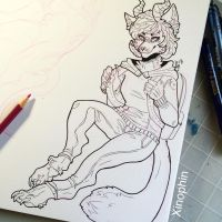 Art trade wip  by Xinophin