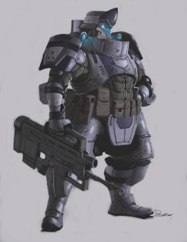 Tyr Combat Armor Front by CrazyAsian1