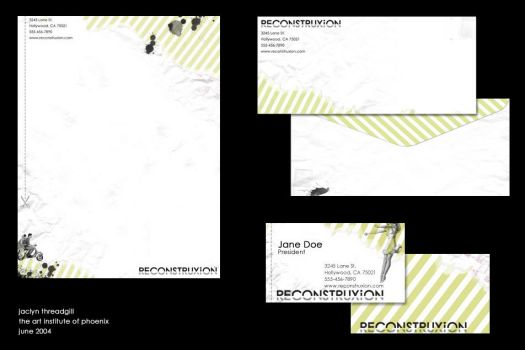 reconstruxion stationary by hexasketch