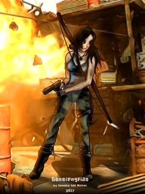 LARA CROFT - TOMB RAIDER DEF.ED. by gonziengfiao