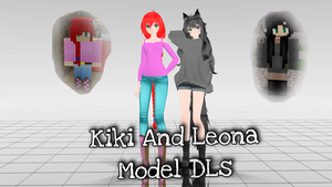 Kiki and Leona Model DLs by Allei2511