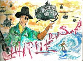 Apocalypse Now, Charlie Don't Surf by PhoenixGR