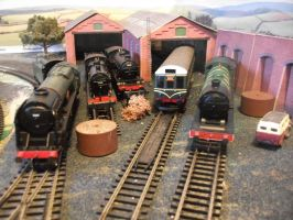 5 New Engines In The Shed by Locomotive-Lloyd-1