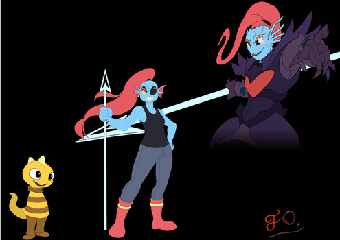 Undyne by JOrmesher