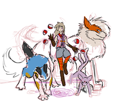 WIP - Salem and team by Sadie-Dkirin