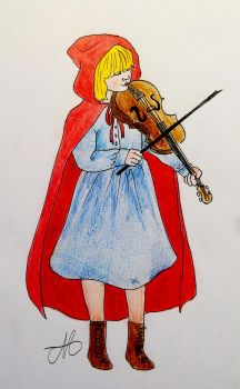 The little red riding hood by grecioslaw