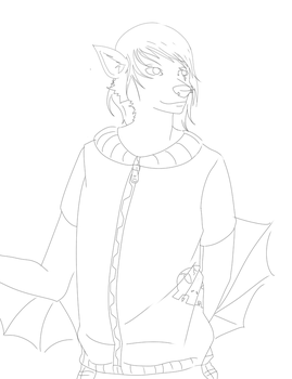just a lineart by watertrap