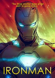 I AM IRON MAN by ajitapalo