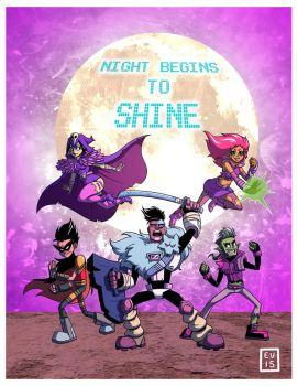 80s Teen Titans Go by Caden13