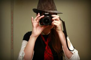 Me: Fedora and Tie by KatieLindPhotography