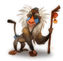 Daily Painting #728 #RAFIKI by Cryptid-Creations
