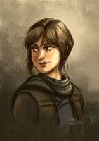 Jyn by danidraws