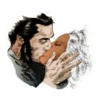 Logan and Ororo by RoLo-Club