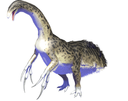 Therizinosaurus MMD DL by ChrisM199