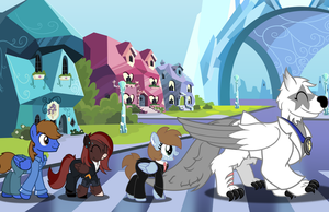Abbey Road (commission) by Vector-Brony