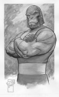 Darkseid Commission by ToneRodriguez