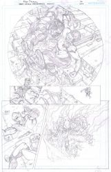 Green Lantern New Guardians annual  page by EDGARSALAZAR