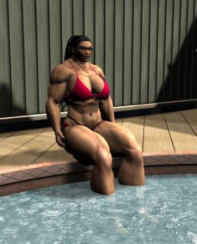 Staci - Poolside by GRISSSE