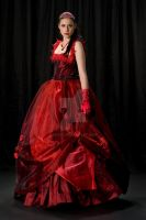 Sarah's Red Ball Gown 04 by Nsaia