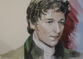 James McAvoy portrait in Becoming Jane by Albagf