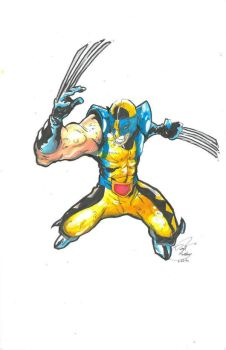 wolverine by Darryltheartist