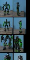bionicle: protton by CASETHEFACE