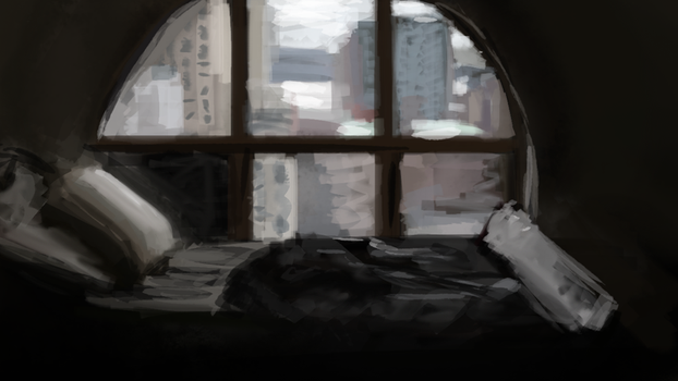 Bedroom Speedpaint by sannahikari