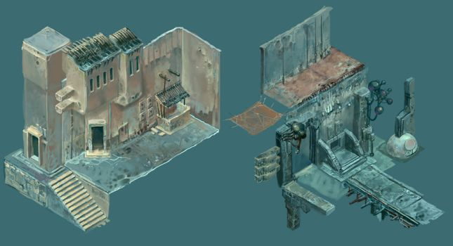 Isometric Kit 02 by CrankBot