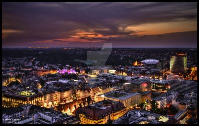 Leipzig night active by Nachtfokus