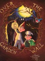 Over the Garden Wall by WickedGhoul