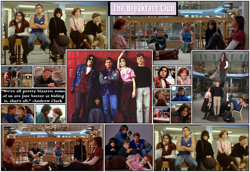 breakfast club character analisis Free essay: in the movie the breakfast club, five seemingly different adolescents are assigned saturday detention where they learn that although they each.