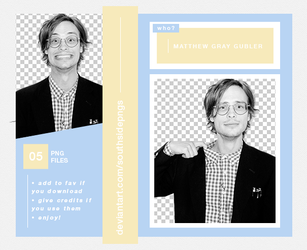 Png Pack 4114 - Matthew Gray Gubler by southsidepngs