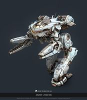 MWO - King Crab - Argent Leviathan by user000000000001
