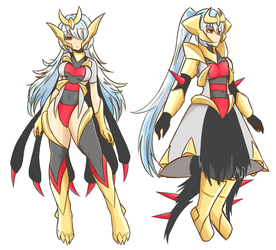 Pokemon - Gijinka Giratina by JustPlainAni