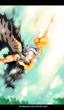 Gajeel and Levy Kissing! by StingCunha