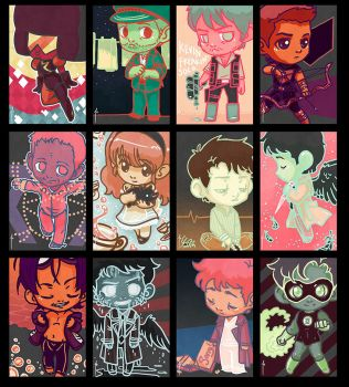 Funky Color Meme Character Requests by JoannaJohnen