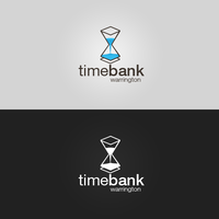 Timebank Warrington  - Logotype (Hourglass v1) by patrickzachar